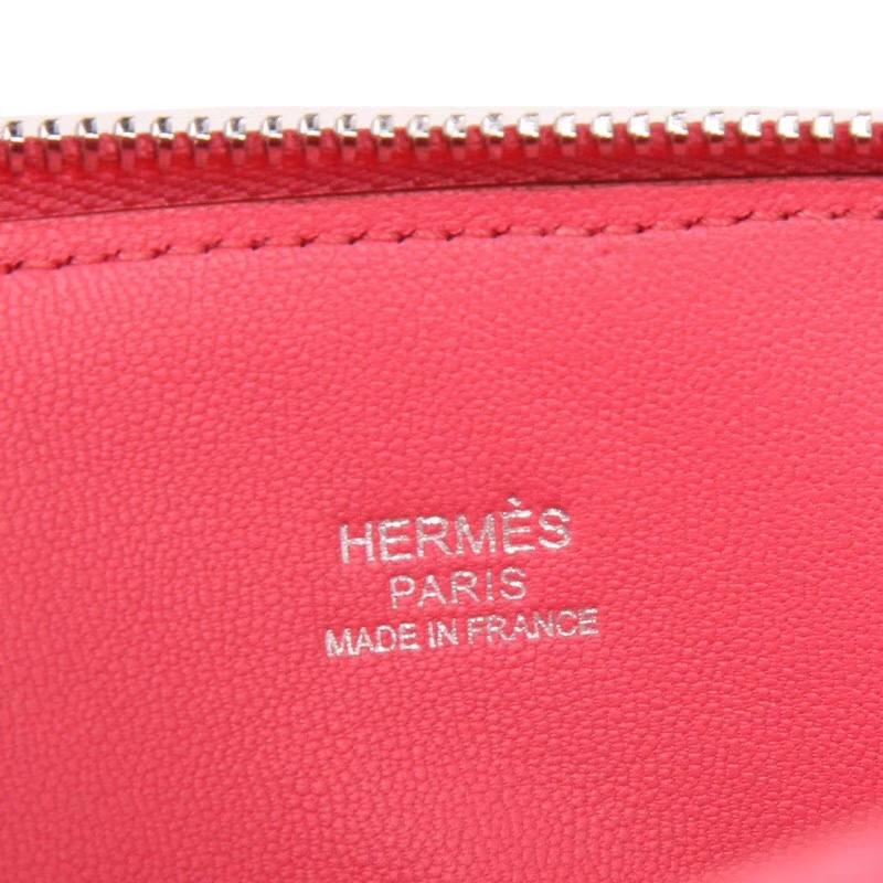 Hermes爱马仕 Bolide保龄球包 U5唇膏粉 山羊皮