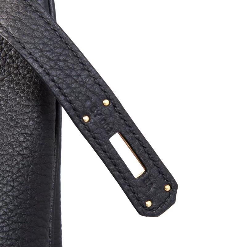 Hermès(爱马仕)Birkin 30cm 金扣 CK89黑色 TOGO 纯手工 现货