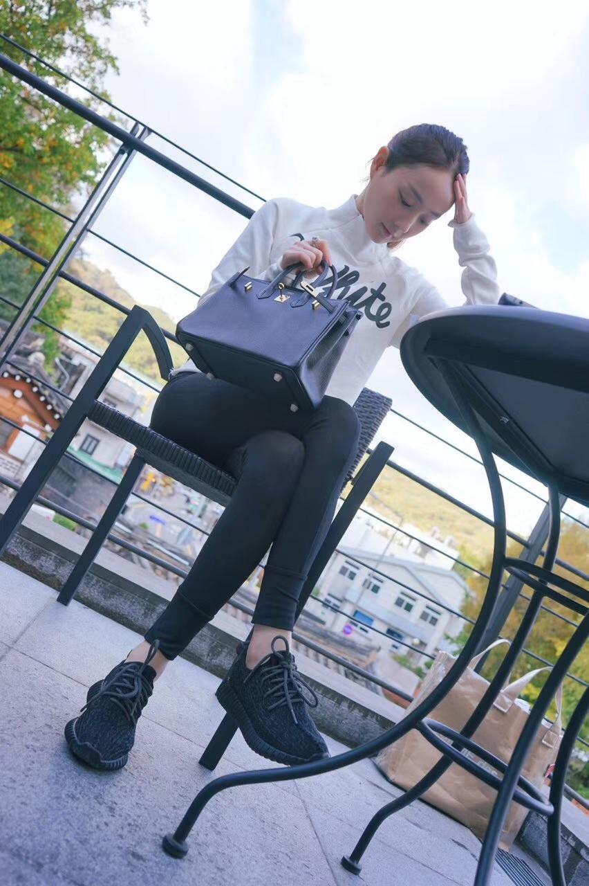 Hermès(爱马仕)Birkin 25CM 金扣 黑色  TOGO 手工 神级