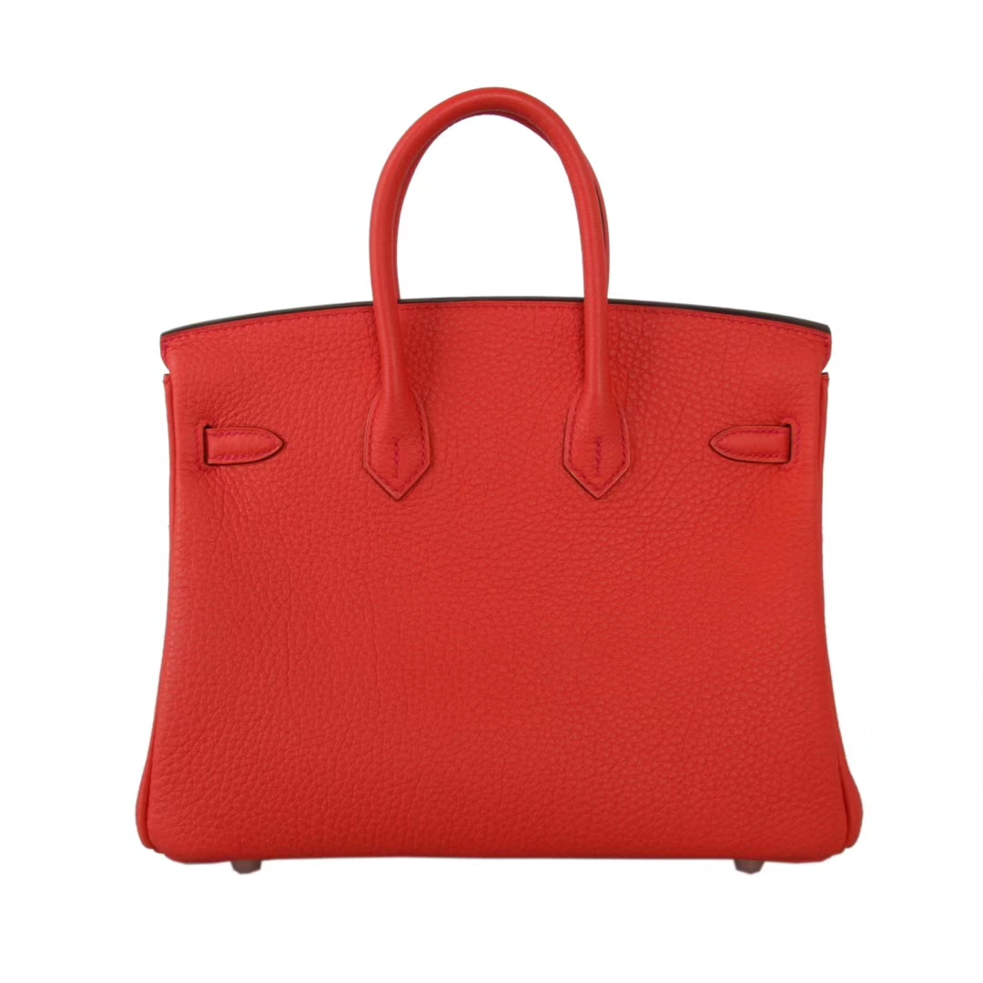 Hermès(爱马仕)Birkin 30  金扣  火焰橙  Togo