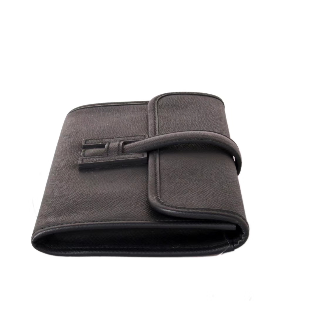 Hermès(爱马仕)长款钱包 黑色  EPSOM皮 21.5×12cm