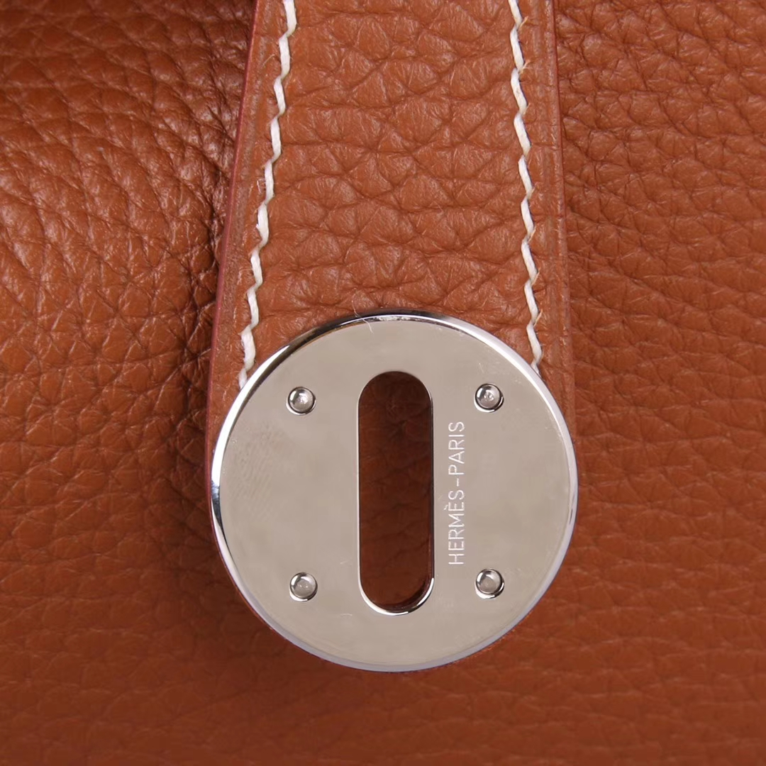 Hermès(爱马仕)Lindy 30cm 金棕色 Togo 现货