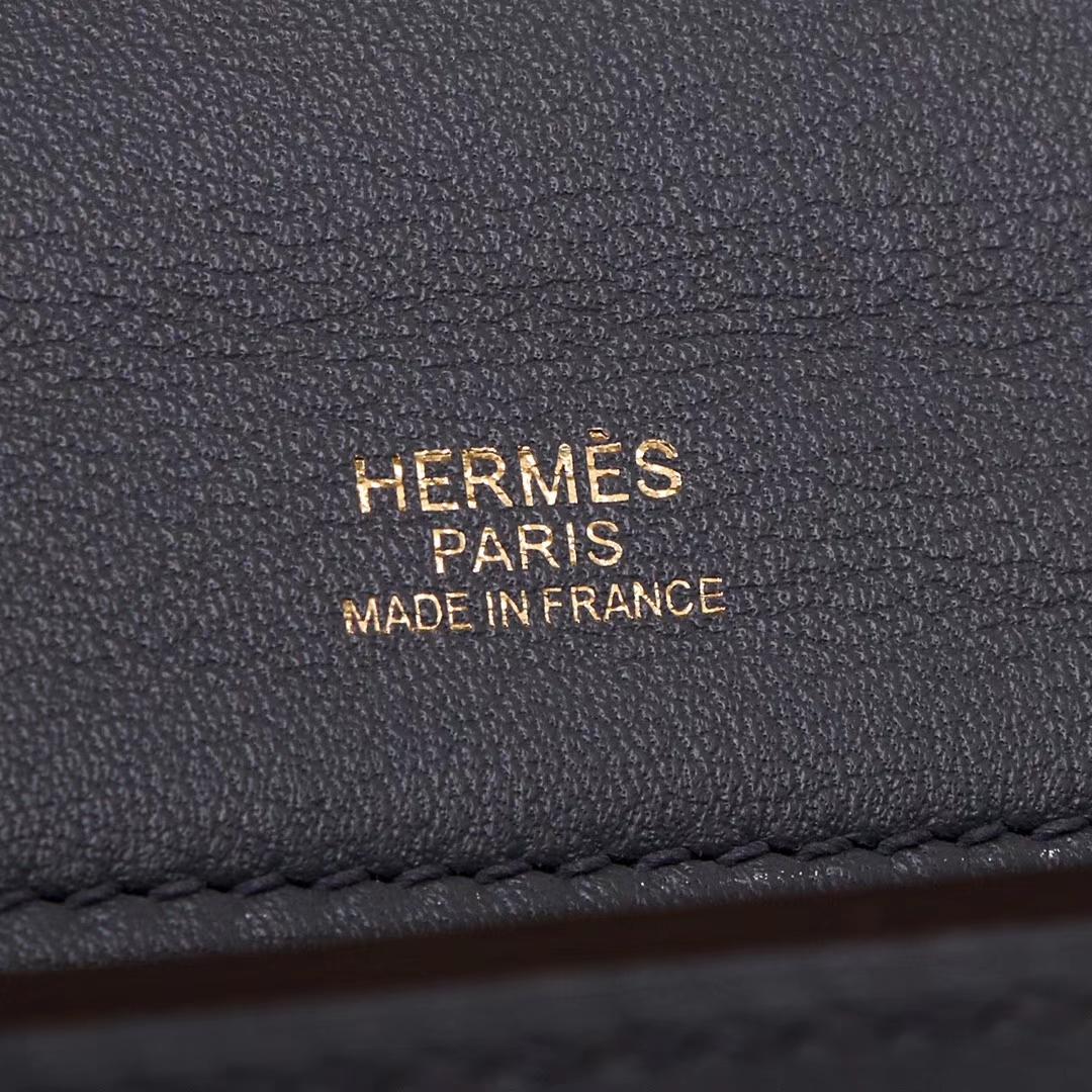 Hermès(爱马仕)Kelly2424 29金扣 灰色togo