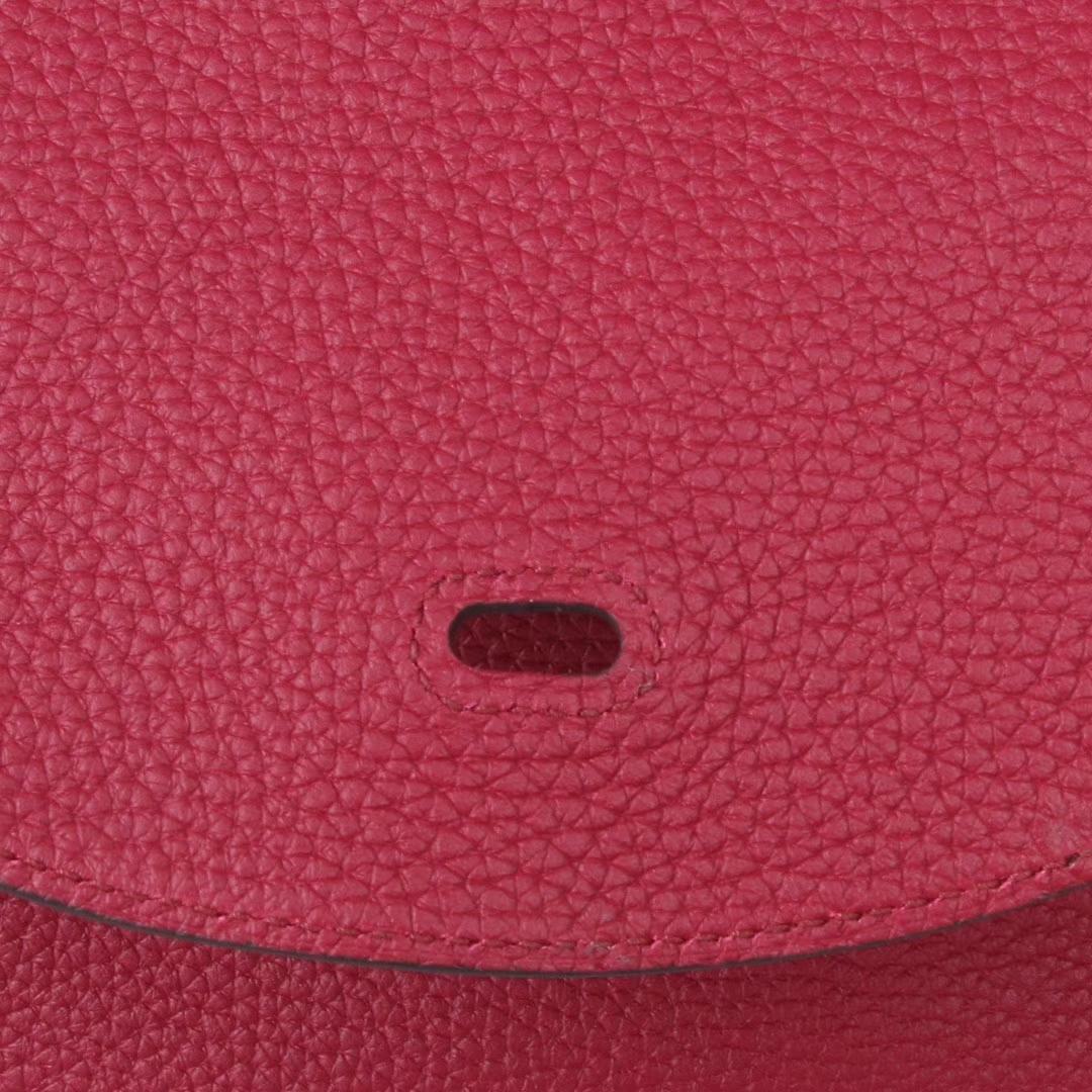 Hermès(爱马仕)Lindy琳迪包 石榴红 金扣 Togo 26cm