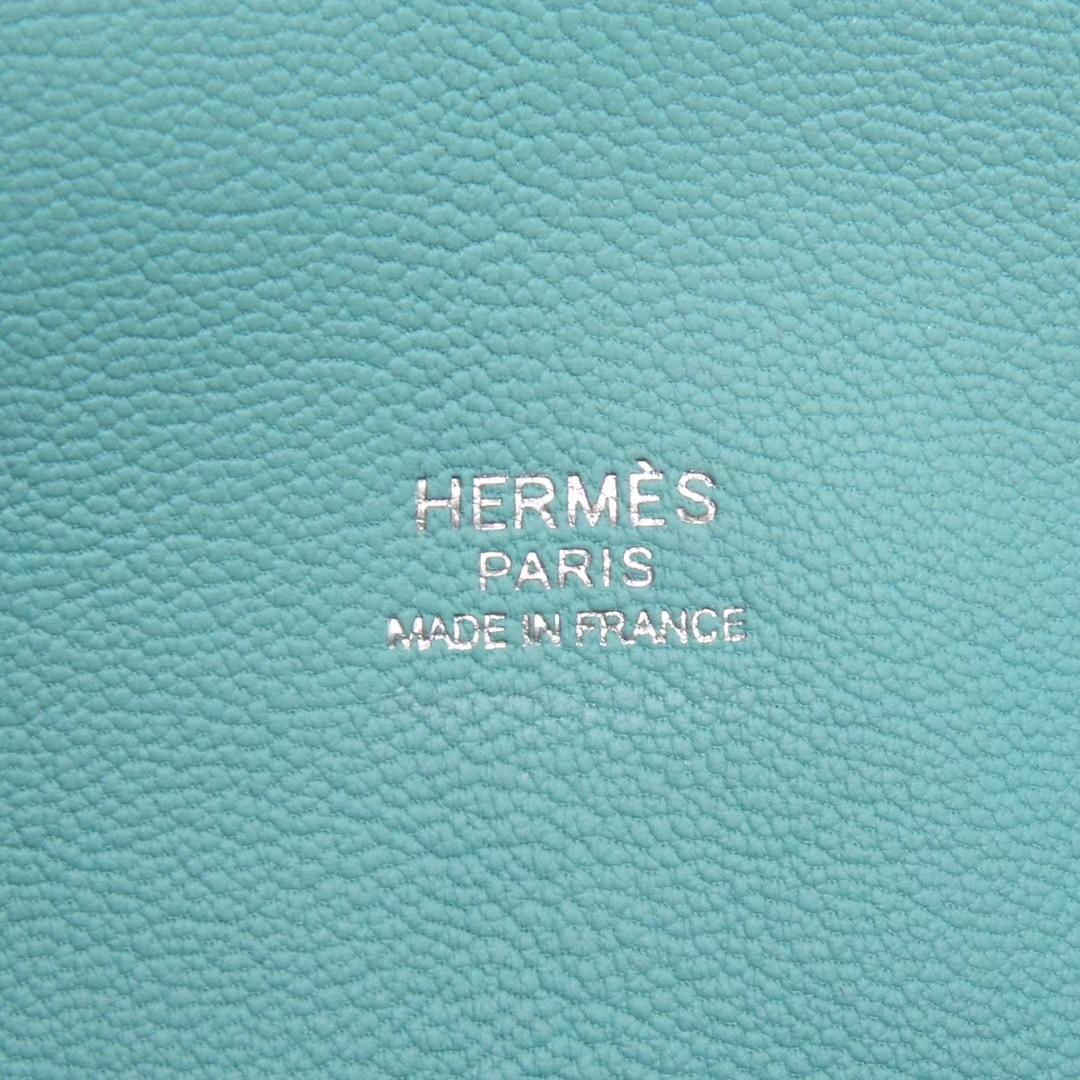 Hermès(爱马仕)Toolbox牛奶盒 马卡龙蓝 原厂御用顶级Swift 皮 26cm