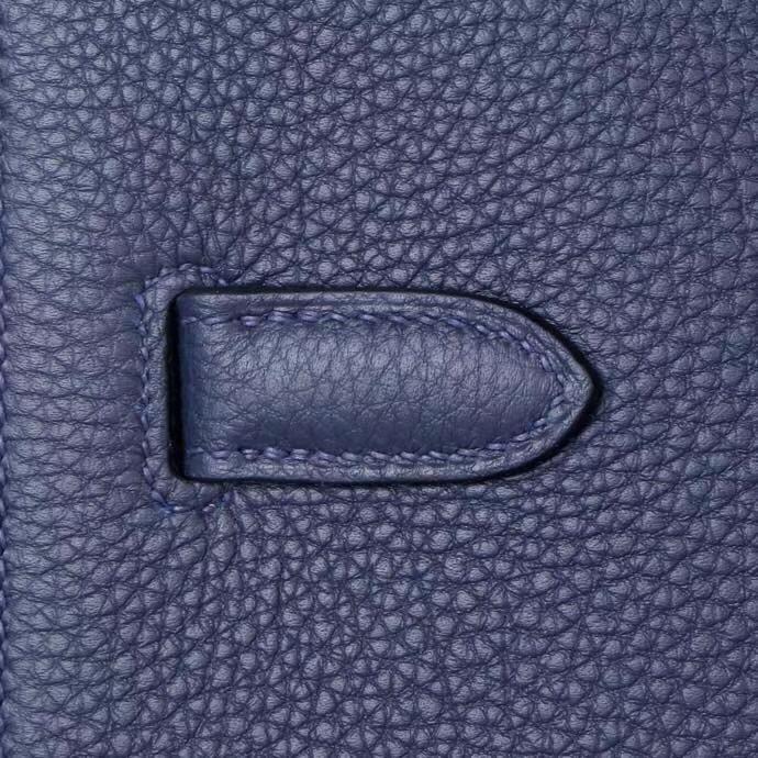 Hermès(爱马仕)Kelly男包 Depeches 2Z午夜蓝 29cm