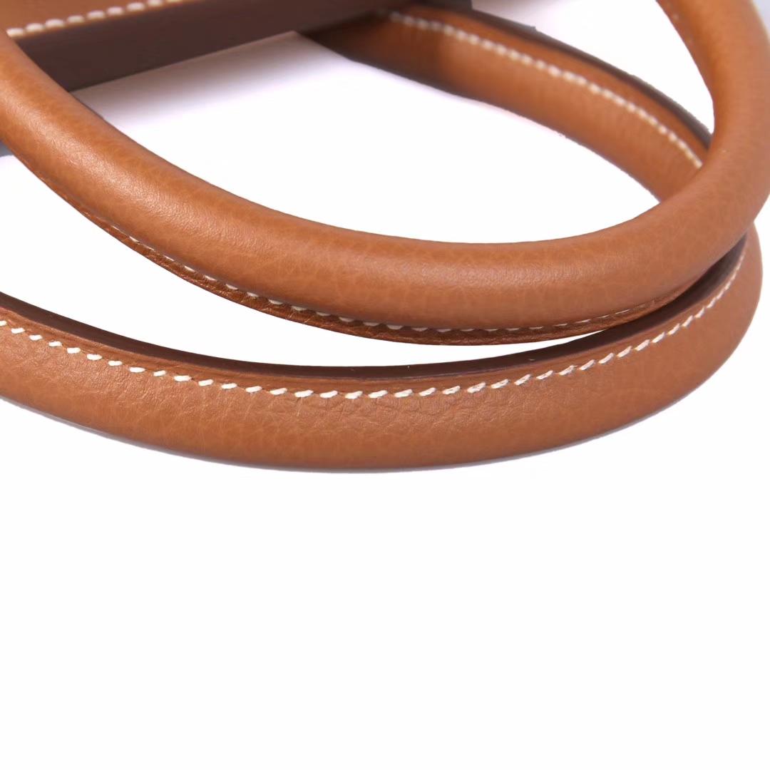 Hermès(爱马仕)Birkin铂金包 金棕色 togo 金扣 30cm