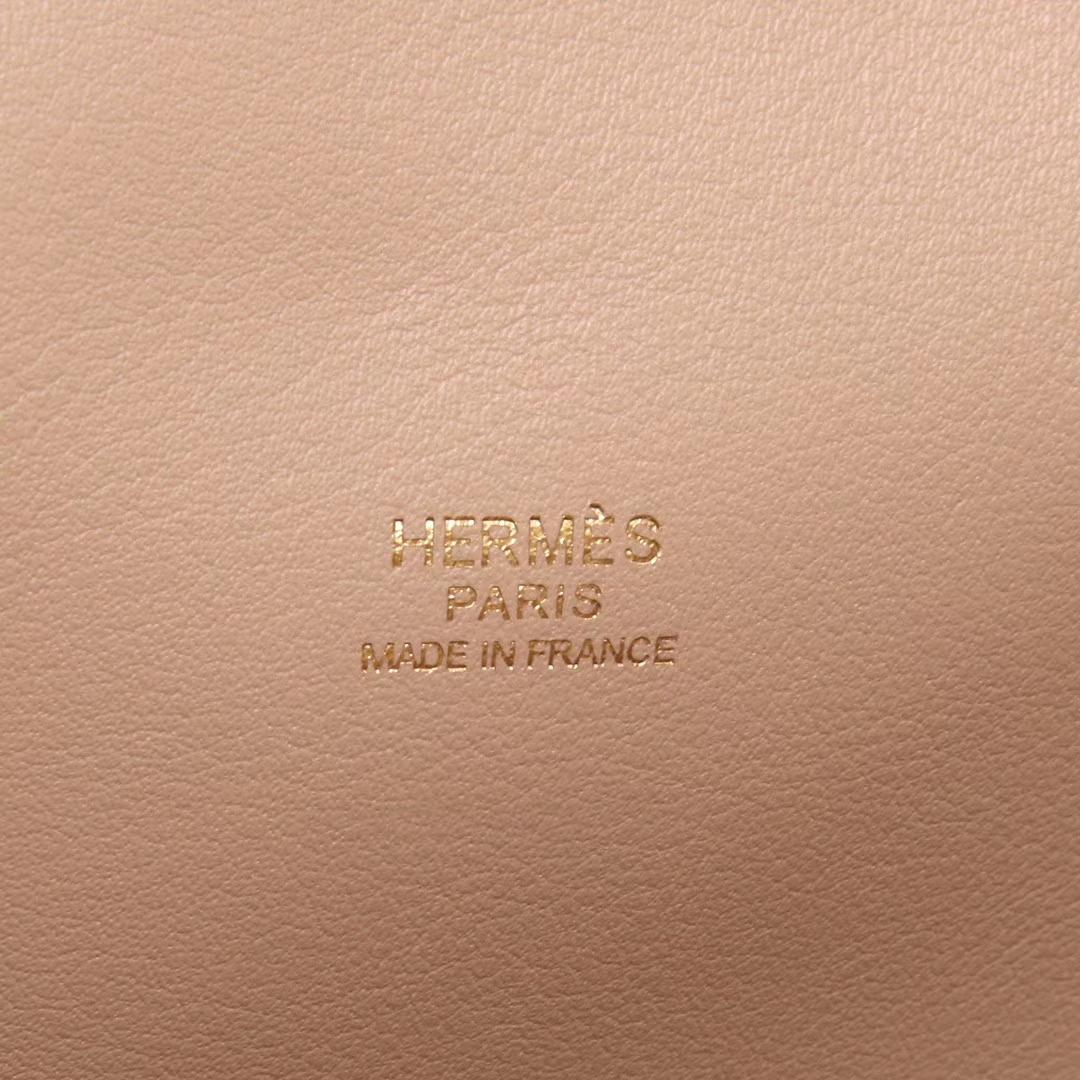 Hermès(爱马仕)Toolbox牛奶盒 风衣灰 原厂御用swift皮 银扣 26cm