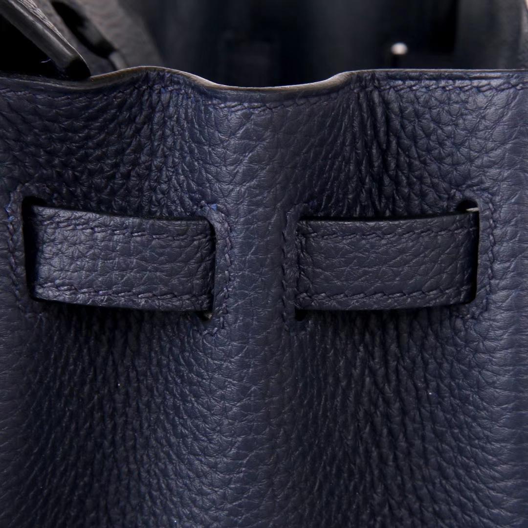 Hermès(爱马仕)Birkin 铂金包 午夜蓝 Togo 金扣 30cm