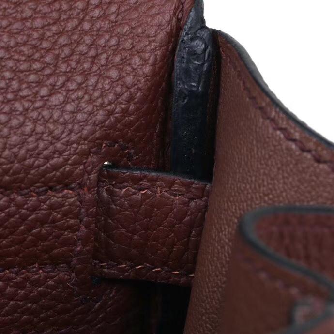Hermès(爱马仕)Kelly 凯莉包 焦糖色 Togo 金扣 28cm