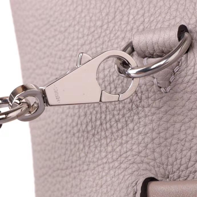 Hermès(爱马仕)Kelly2424 斑鸠灰 togo 银扣 29cm