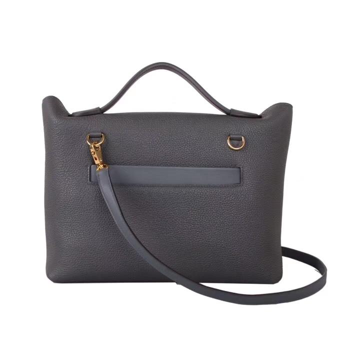 Hermès(爱马仕)Kelly2424 锡器灰 togo 金扣 29cm