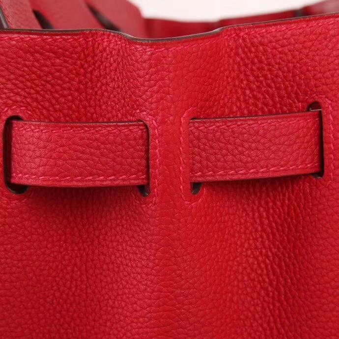 Hermès(爱马仕)Birkin 铂金包 国旗红 togo 金扣 30cm