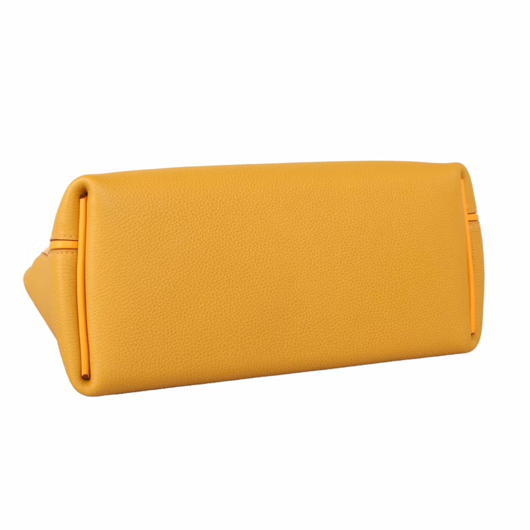 Hermès(爱马仕)Kelly24249D琥珀黄 金扣 29cm