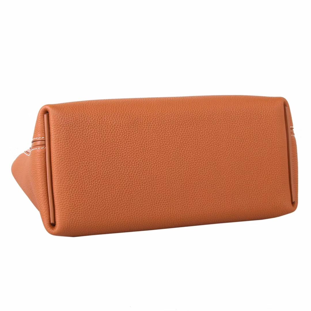 Hermès(爱马仕)Kelly2424 金棕色 Togo 金扣 29cm
