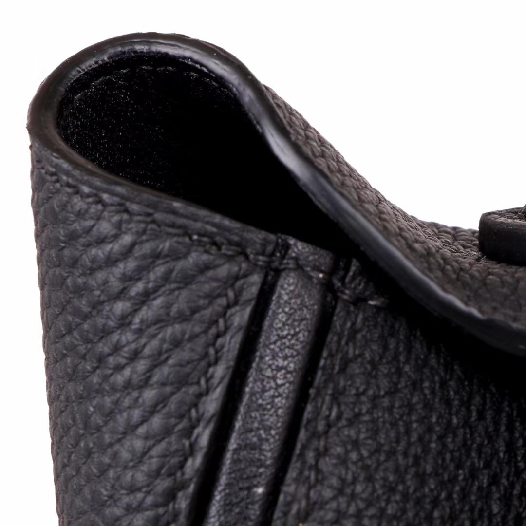 Hermès(爱马仕)Kelly2424 黑色 Togo 金扣 29cm