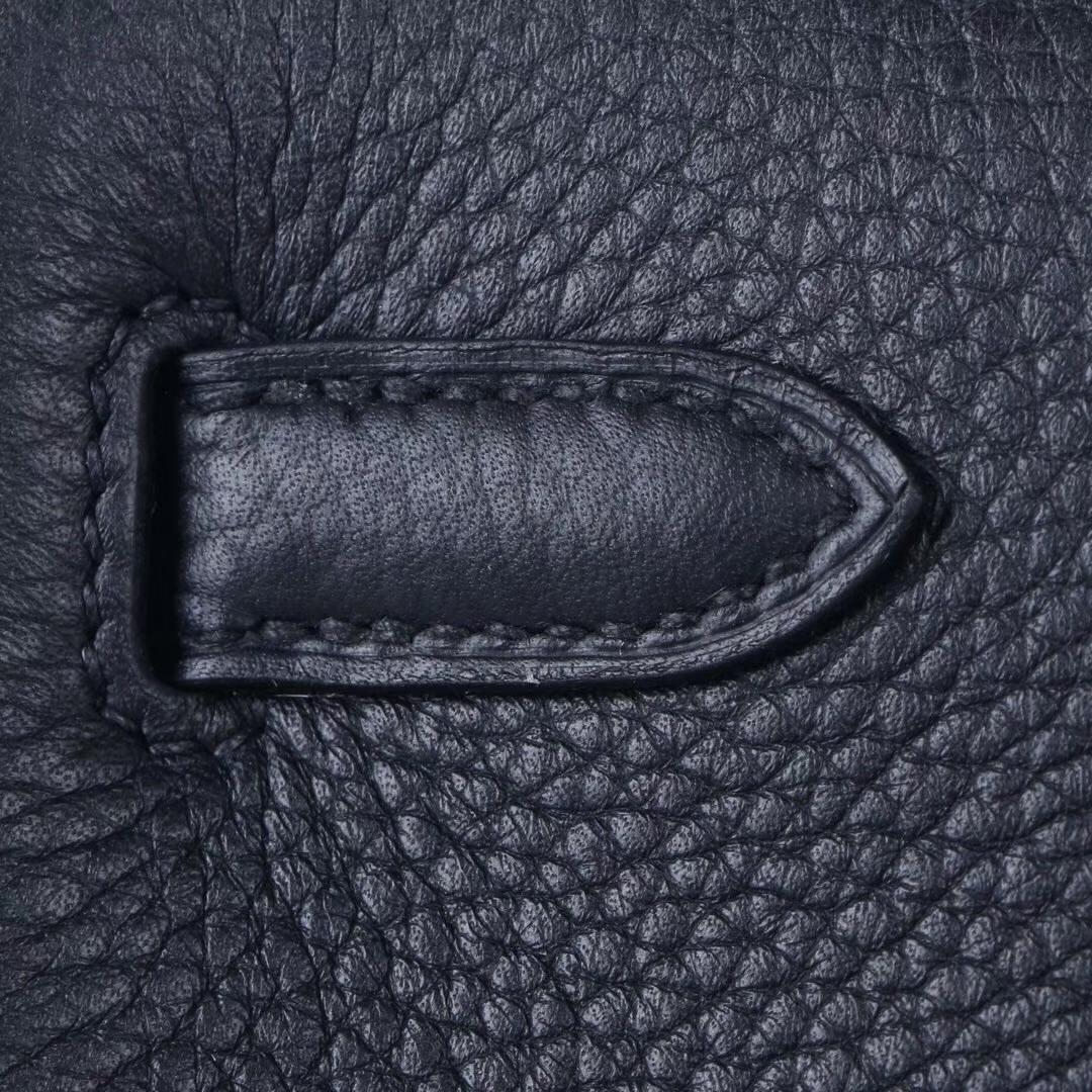 Hermès(爱马仕)kelly ado 双肩包 经典黑 togo 金扣 22cm