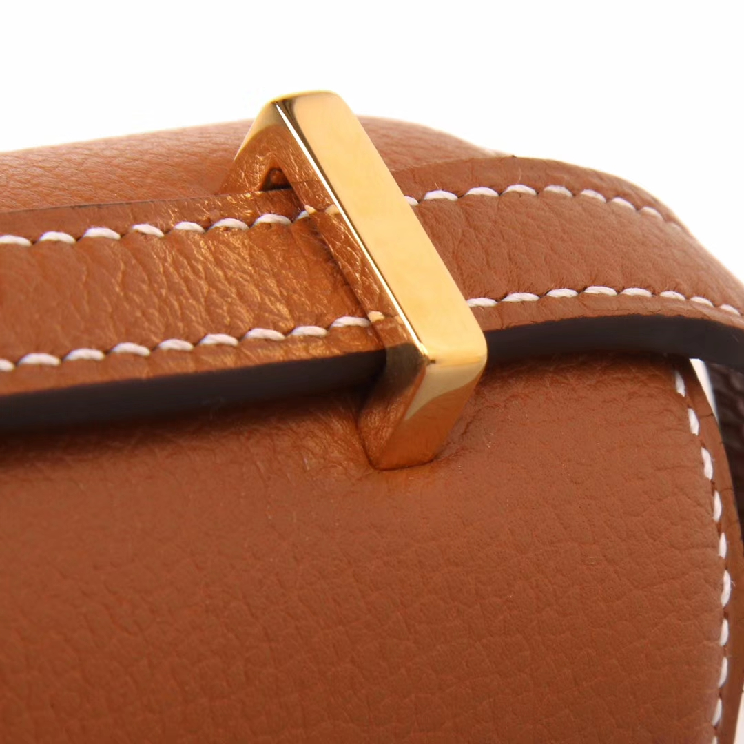 Hermès(爱马仕)Constace 空姐包 金棕色 EV 金扣 23cm