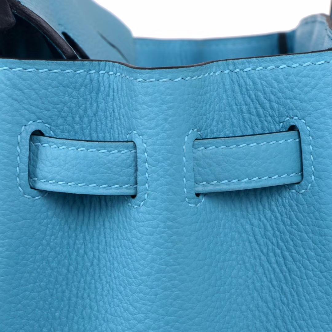 Hermès(爱马仕)Birkin 铂金包 北方蓝 togo 银扣 30cm
