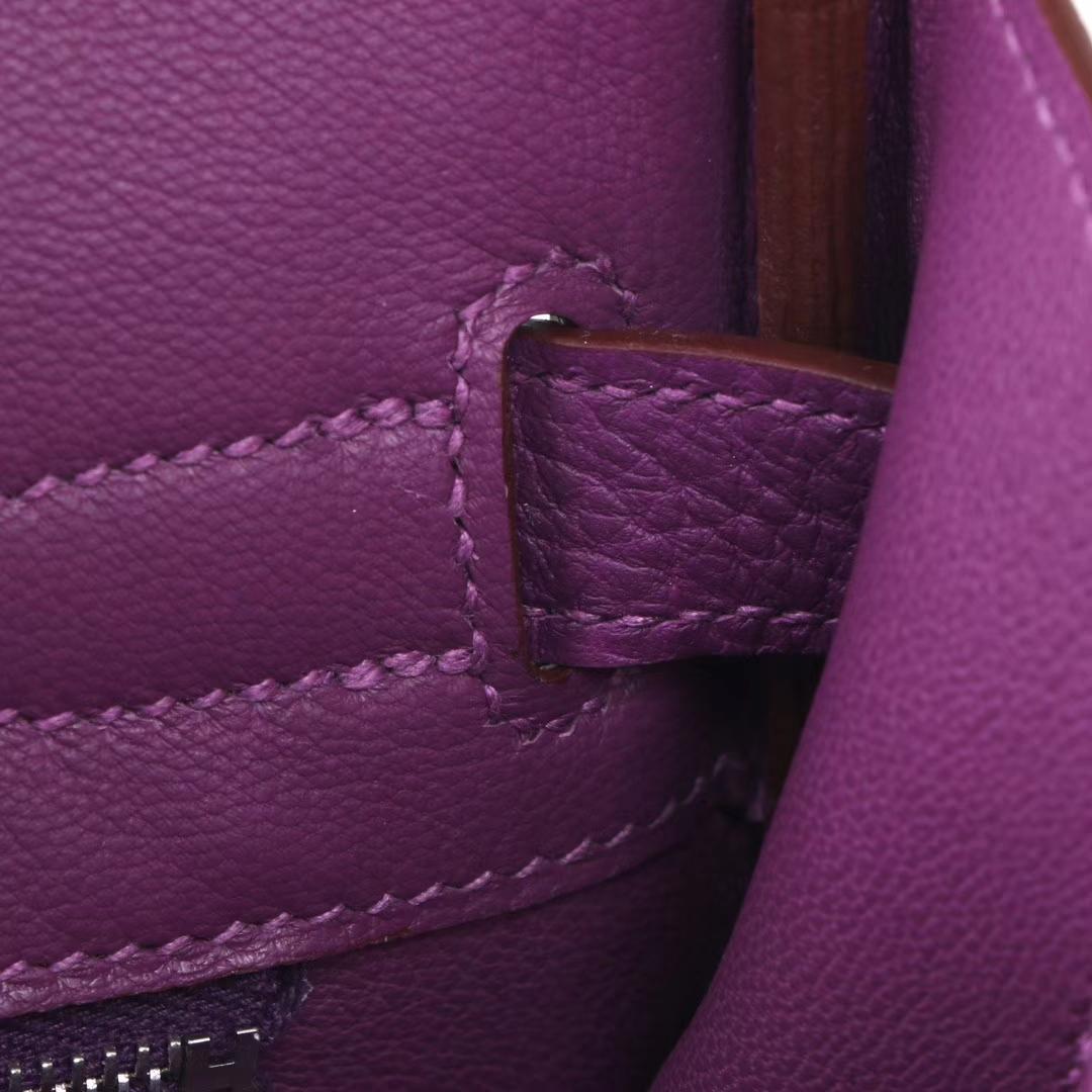 Hermès(爱马仕)Birkin 铂金包 梦幻紫 togo 银扣 30cm