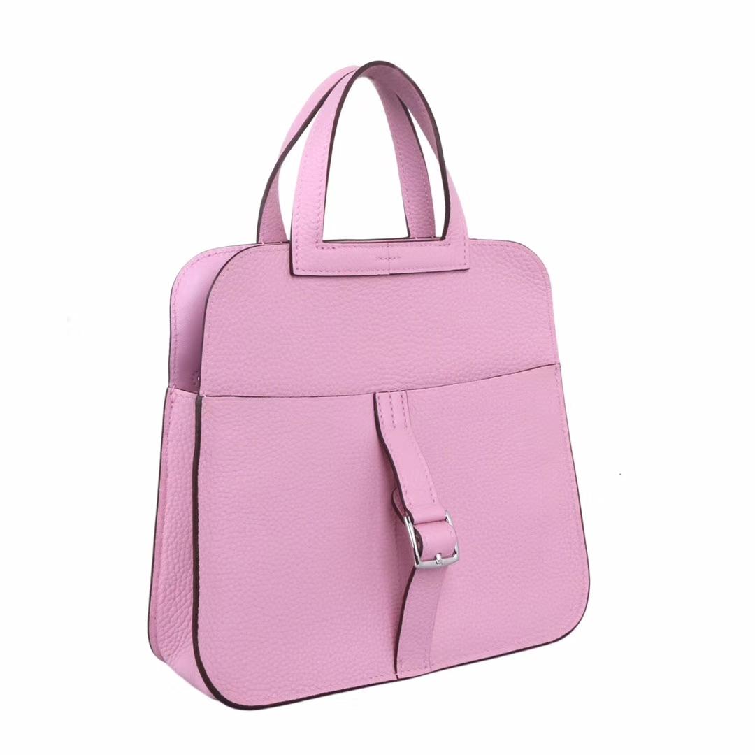 Hermès(爱马仕)halzan mini 22cm x9锦葵紫 togo