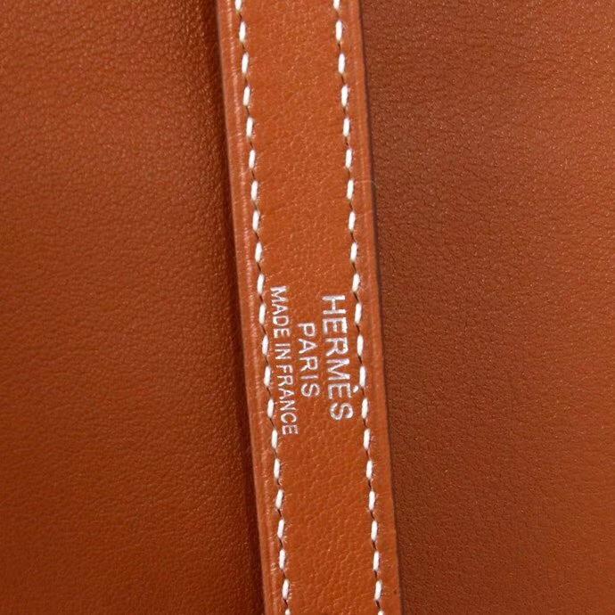 Hermès(爱马仕)Kelly Flat 金棕色 银扣 swift皮 35cm