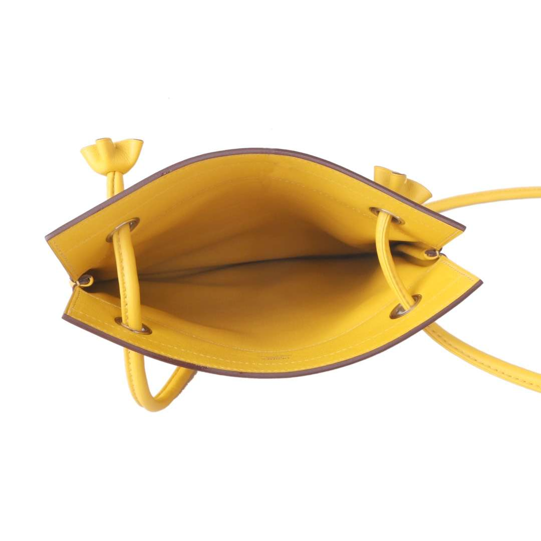 Hermès(爱马仕)Aline Ⅱ 艾琳包 琥珀黄 swift皮 24cm