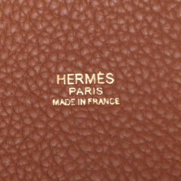 Hermès(爱马仕)Picotin 菜篮包 金棕 togo 金扣 18cm