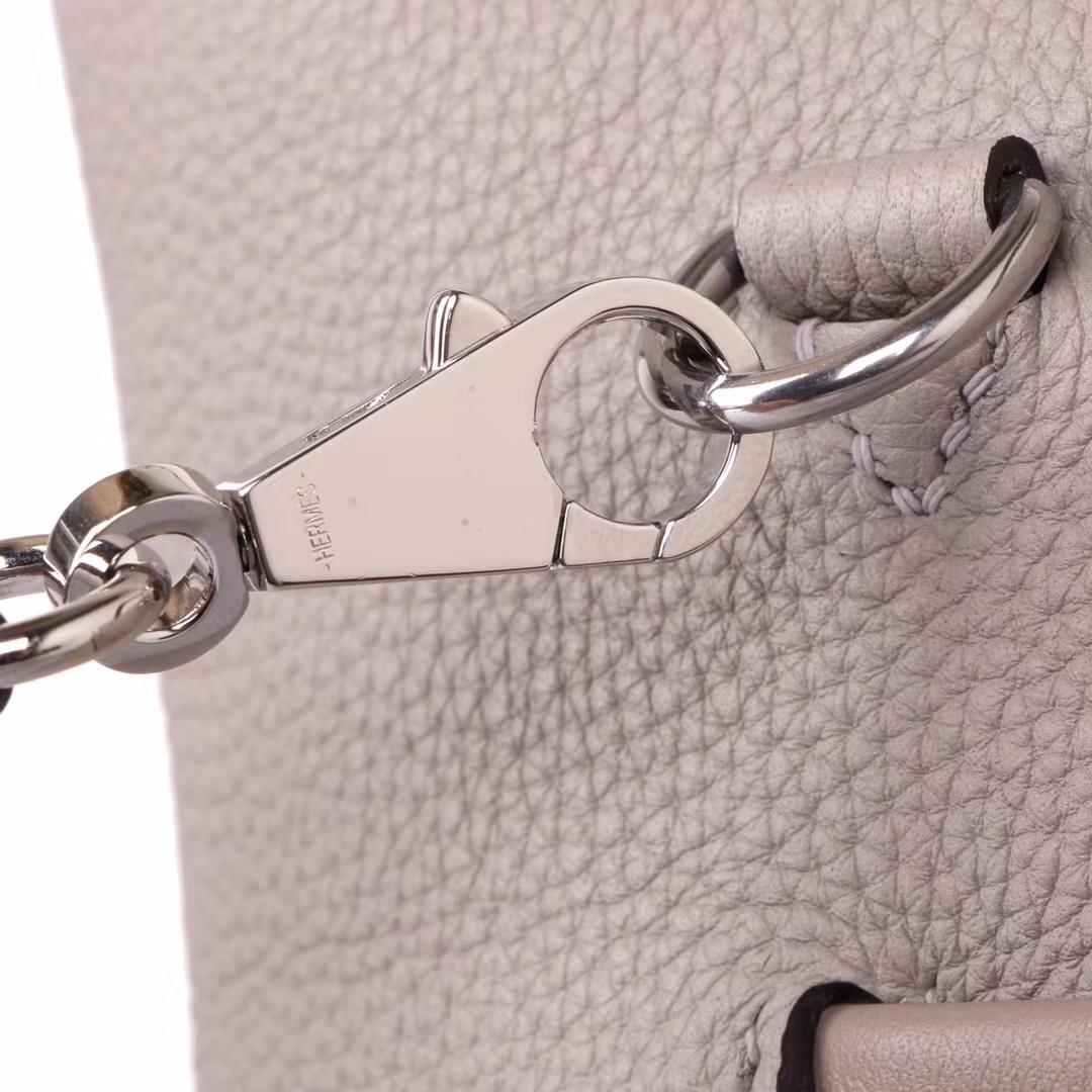 Hermès(爱马仕)Kelly 2424  29cm 银扣  斑鸠灰  togo