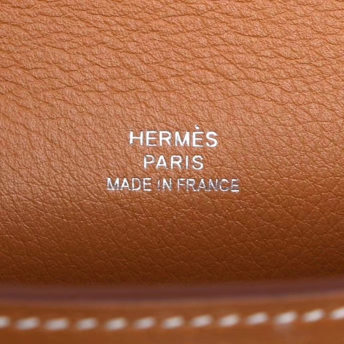Hermès(爱马仕)miniKelly 1代 银扣 金棕 swift