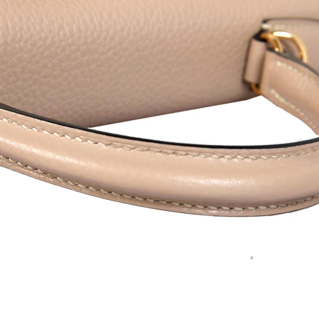 Hermès(爱马仕)Kelly凯莉包 斑鸠灰 togo 金扣 28cm